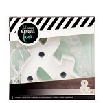 Heidi Swapp - Marquee Love Collection - Marquee Kit - 4 Inches - Ampersand