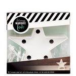 Heidi Swapp - Marquee Love Collection - Marquee Kit - 4 Inches - Star