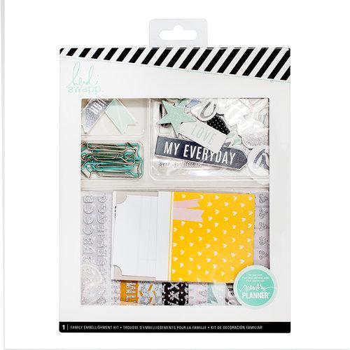 Heidi Swapp - Memory Keeping Collection - Embellishment Kit - Family