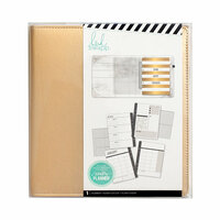 Heidi Swapp - Memory Keeping Collection - Memory Planner - Large - Gold - Undated