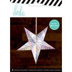 Heidi Swapp - Paper Lanterns - Small - Star - Iridescent