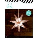 Heidi Swapp - Paper Lanterns - Small - 7 Point - Copper