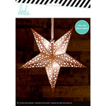 Heidi Swapp - Paper Lanterns - Medium - Star - Copper