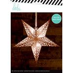 Heidi Swapp - Paper Lanterns - Medium - Star - Copper