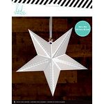 Heidi Swapp - Paper Lanterns - Large - Star - White