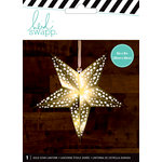 Heidi Swapp - Paper Lanterns - Small - 5 Point - Gold