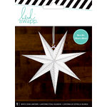 Heidi Swapp - Paper Lanterns - Small - 7 Point - White