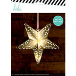Heidi Swapp - Paper Lanterns - Medium - Star - Gold