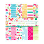 American Crafts - Hello Spring Collection - 6 x 6 Paper Pad