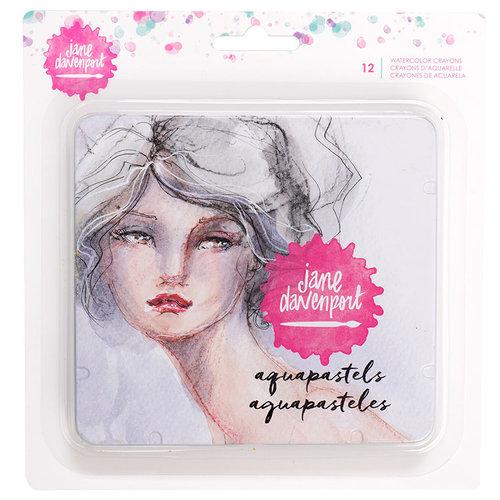 American Crafts - Mixed Media 2 - Watercolor Crayons - Aquapastels