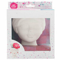 American Crafts - Mixed Media 2 - Girl Brush Cup