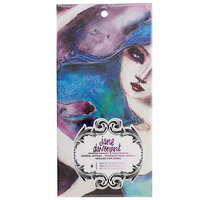 American Crafts - Mixed Media 2 - Journal Tattoo Book - Celestial