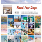 American Crafts - 12 x 12 Paper Pad - Road Trip Days