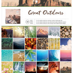 American Crafts - 12 x 12 Paper Pad - Great Outdoors