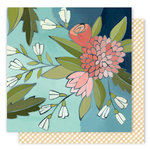 1 Canoe 2 - Creekside Collection - 12 x 12 Double Sided Paper - Gathering Flowers