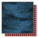 1 Canoe 2 - Creekside Collection - 12 x 12 Double Sided Paper - Night Sky