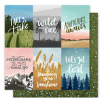 1 Canoe 2 - Creekside Collection - 12 x 12 Double Sided Paper - Wise Words