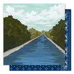 1 Canoe 2 - Creekside Collection - 12 x 12 Double Sided Paper - Up the Creek