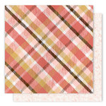 1 Canoe 2 - Creekside Collection - 12 x 12 Double Sided Paper - Cozy Plaid