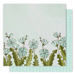 1 Canoe 2 - Creekside Collection - 12 x 12 Double Sided Paper - Chicory