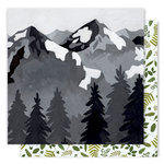 1 Canoe 2 - Creekside Collection - 12 x 12 Double Sided Paper - Mountain View