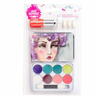 American Crafts - Mixed Media 2 - Chalk Pastels Tin - Eye Shadow
