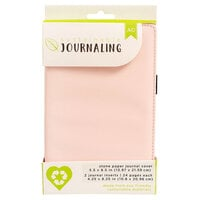 American Crafts - Sustainable Journaling Collection - Stone Paper Journal - Blush