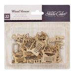 American Crafts - Studio Calico - HeyDay - Wood Veneer Pieces - My Type