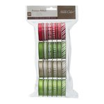 American Crafts - Christmas - Ribbon Value Pack - Magical - 24 Spools