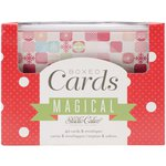 American Crafts - Christmas - Boxed Card Set - Magical