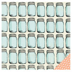 American Crafts - Studio Calico - South of Market Collection - 12 x 12 Double Sided Paper - Because I Can
