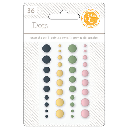 Studio Calico - South of Market Collection - Enamel Dots