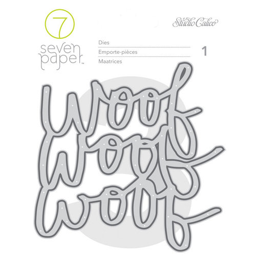 Studio Calico - Seven Paper - Baxter Collection - Die Sets - Woof