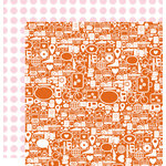 Studio Calico - Seven Paper - Amelia Collection - 12 x 12 Double Sided Paper - Paper 007