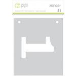 Studio Calico - Seven Paper - Amelia Collection - Handbook - 4 x 4 Transparent Cards