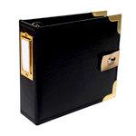 Studio Calico - Seven Paper - Amelia Collection - Handbook - 4 x 4 Album - Black