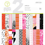 Studio Calico - Seven Paper - Amelia Collection - 6 x 6 Paper Pad