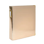 Studio Calico - Seven Paper - Handbook Collection - 9 x 12 D-Ring Album - Faux Leather - Gold