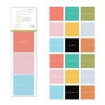 Studio Calico - Seven Paper - Clara Collection - 2 x 2 - Transparent Squares