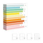 Studio Calico - Seven Paper - Darcy Collection - Handbook Albums - 9 x 12 - Pencils