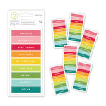 Studio Calico - Seven Paper - Darcy Collection - Cardstock Stickers - Labels - Subjects