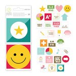 Studio Calico - Seven Paper - Darcy Collection - 3 x 3 Die Cut Cards
