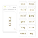 Studio Calico - Seven Paper - Darcy Collection - 4 x 6 Transparent Cards
