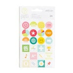 Studio Calico - Seven Paper - Darcy Collection - Cardstock Stickers - Icons