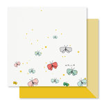 Studio Calico - Seven Paper - Clara Collection - 12 x 12 Double Sided Paper - Paper 004