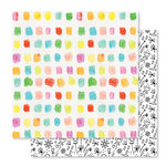 Studio Calico - Seven Paper - Clara Collection - 12 x 12 Double Sided Paper - Paper 009