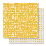 Studio Calico - Seven Paper - Clara Collection - 12 x 12 Double Sided Paper - Paper 012