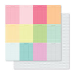 Studio Calico - Seven Paper - Darcy Collection - 12 x 12 Double Sided Paper - Paper 007