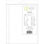 Studio Calico - Seven Paper - Handbook Collection - Page Protectors - 9 x 12 - Multi Pack