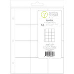 Studio Calico - Seven Paper - Handbook Collection - Page Protectors - 9 x 12 - 3 x 3 Pockets